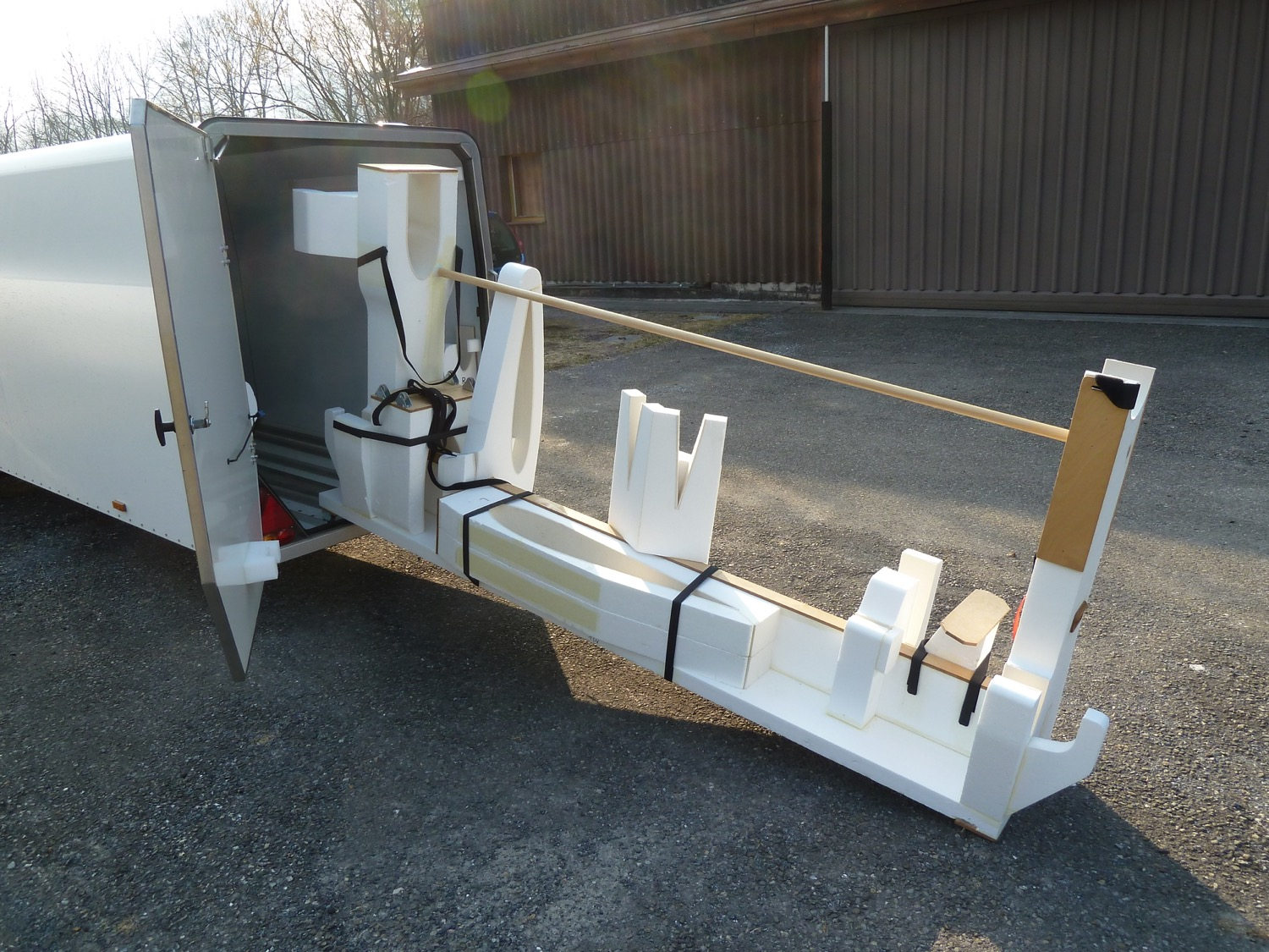 Ruppert Composite Archaeopteryx Hang Wiring Harness Trailer Transport Jig System