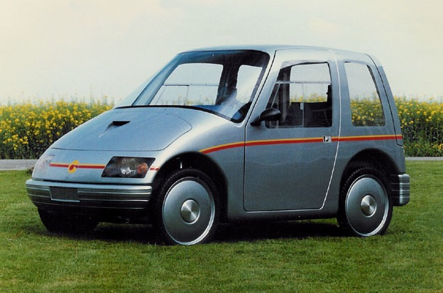Piccolo, early electro vehicle by Bucher Leichtbau. Bodywork manufacture for several prototypes.